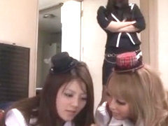 Fabulous Japanese slut Nozomi Mashiro, Sho Nishino, Miku Ohashi in Best Blowjob, Handjobs JAV movie