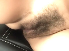 Crissy Moon has her hirsute muff drilled