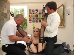 Hottest pornstar Lily Labeau in fabulous fetish, blowjob porn video