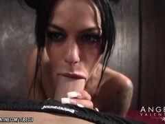 Angelina Valentine Sucks Justice Cock