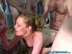 British redhead Holly Kiss banged