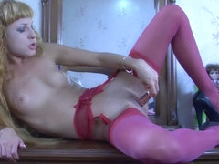 LacyNylons Video: Esther C