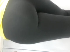Turning the phone to see that ass