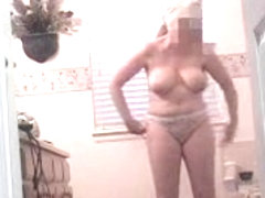 Mom in Law out of shower