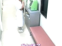 Delicious nurse creampied in spy cam medical video