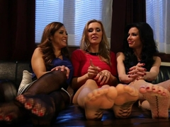 Incredible milf, fetish porn video with fabulous pornstars Francesca Le, Veronica Avluv and Tanya .