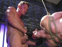 Pierce Paris,Jack Hunter in Rich Boy Jack Hunter Gets Punished & Fucked for his Father's Debts.