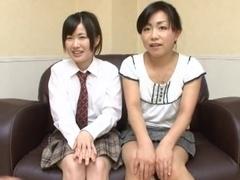 Oil Massage Daughter and Mamma-1