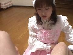 JapaneseBukkakeOrgy: Gothic Asian with Semen #6
