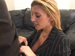 Sizzling-hot sex with busty blonde MILF