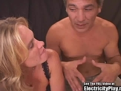 Slutty Wife Roped and Shock Fucked