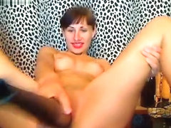 Dirtyfetish fucks herself with a baseball bat