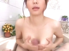 Exotic Japanese slut Hime Ayase in Hottest Blowjob/Fera JAV clip