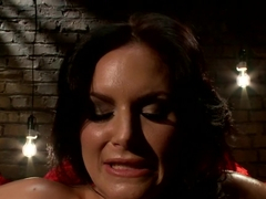Horny lesbian, fetish porn scene with exotic pornstars Phoenix Marie and Bobbi Starr from Whippeda.
