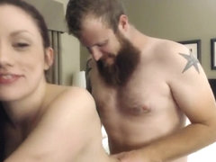 Brunette Sucks A Dick