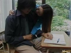 Yuri Koizumi Sexy Japanese teacher
