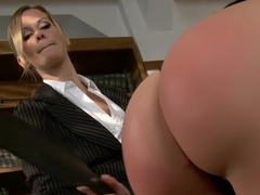 Exotic fetish, lesbian xxx video with hottest pornstars Angelica Saige and Maitresse Madeline Marlowe from Wiredpussy