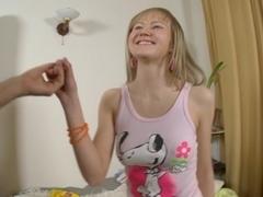 Hot babe having anal sex scene 1