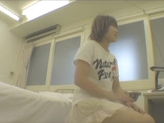 Deep gyno examination shot on medical hidden camera