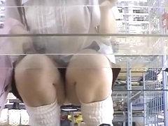 Asian women upskirt video compilation