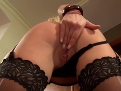 Incredible pornstar Carla Cox in amazing lingerie, facial sex clip