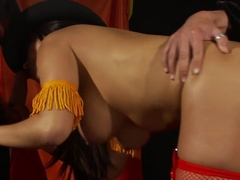 Exotic pornstar in crazy brazilian, lingerie sex scene