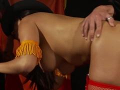Exotic pornstar in crazy brazilian, lingerie sex scene
