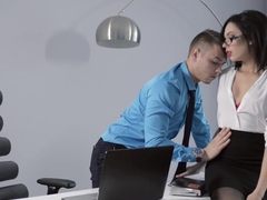 Best pornstar in Crazy Brunette, Stockings adult video