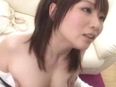 Exotic Japanese chick Hana Nonoka in Fabulous Squirting, Stockings JAV clip