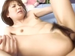 Exotic Japanese slut Maria Asagiri in Horny JAV uncensored Creampie clip
