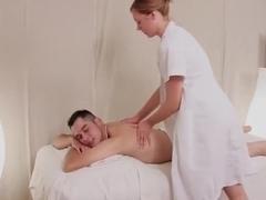 Hot massage table sex