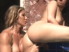 Vivid Video: Stepmom Knows How To Work Huge Ass On Daughter's Face
