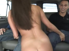 Amateur Asian On The BangBus