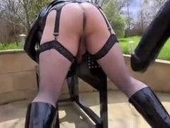 Slutty dykes in hot female domination porn action