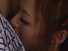Aino Kishi naughty Asian teen banged hard doggy style
