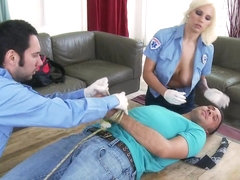 Big Tits In Uniform: Emergency Call