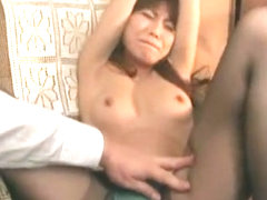 Horny Japanese model in Incredible BDSM, Small Tits JAV video
