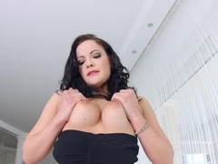 Allinternal Dolly Diore drizzles cum from her filled up pussy