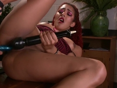 Crazy squirting, fetish sex video with hottest pornstar Daisy Ducati from Fuckingmachines