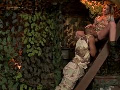 Crazy pornstar Rihanna Samuel in hottest outdoor, interracial adult clip