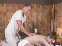 Massage plus cock on Valentines day
