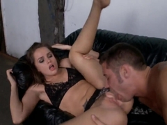 Tori Black being amerced by muscled Danny Mountain