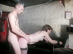 Devote GF getting fucked from behind