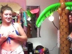 DareDorm Clip: Luau party