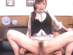 Best Japanese slut Yui Azusa in Fabulous Handjobs, DP/Futa-ana JAV clip