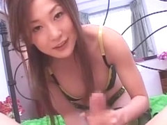 Horny Japanese chick in Crazy Lingerie, Big Tits JAV movie