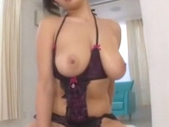 Exotic Japanese whore Hana Haruna in Hottest POV, Lingerie JAV scene