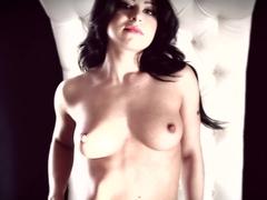 Crazy pornstar Adriana Lynn in Horny Solo Girl, Brunette porn scene