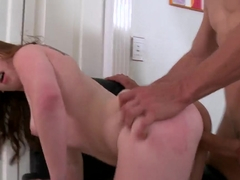 Office lady Kira caught by her ex boyfriend right on her workplace and fucked hard