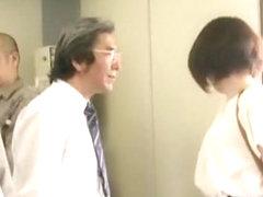 Crazy Japanese slut Ren Suzuki in Amazing Fingering, Cunnilingus JAV clip